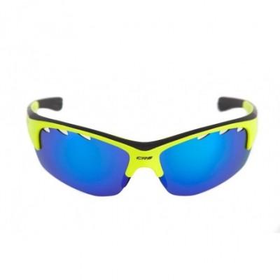 Brýle CRUSSIS žluté neon s...